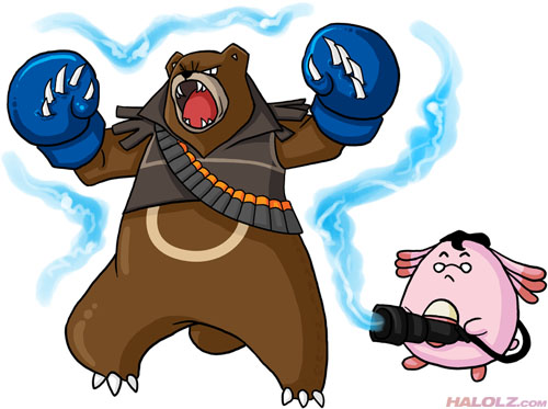 WHO SENDS POKEMON TO FIGHT ME?!