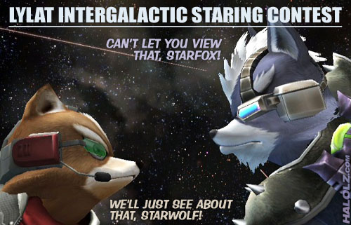 LYLAT INTERGALACTIC STARING CONTEST
