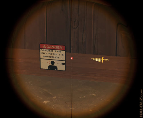DANGER: READING THIS MAY RESULT IN HEADSHOT