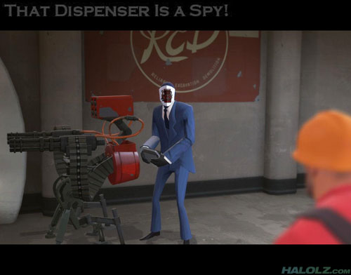 That Dispenser Is a Spy!