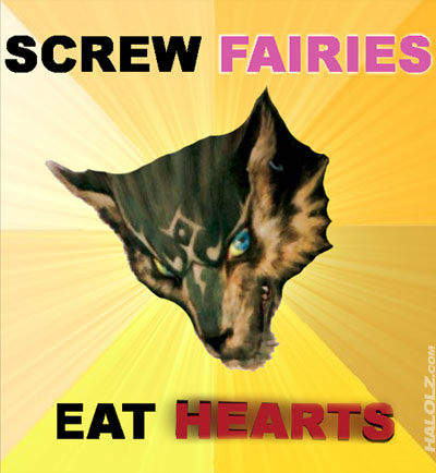 SCREW FAIRIES, EAT HEARTS