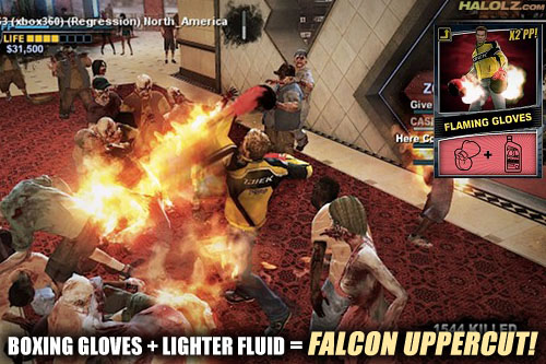BOXING GLOVES + LIGHTER FLUID = FALCON UPPERCUT!