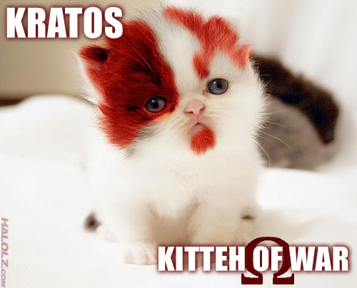 KRATOS - KITTEH OF WAR