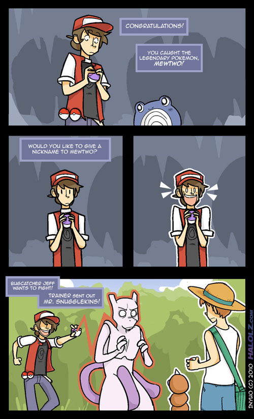 MEWTWO, THE ULTIMATE POKÉMON! (comic 2)