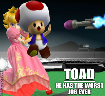 TOAD - HE HAS THE WORST JOB EVER