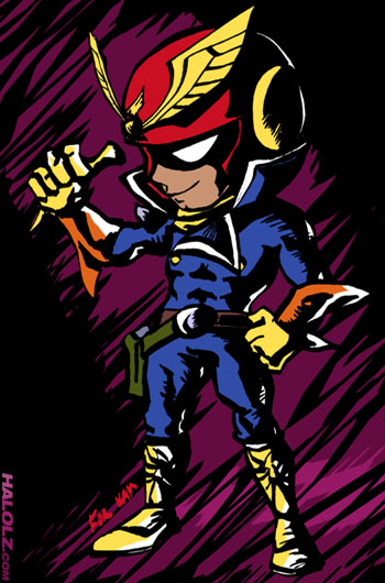 Viewtiful Falcon