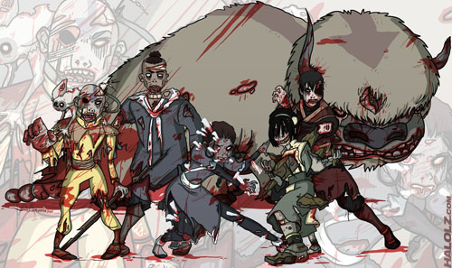 Avatar The Last Airbender - Zombies