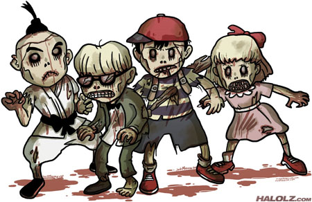 Earthbound NES Zombies