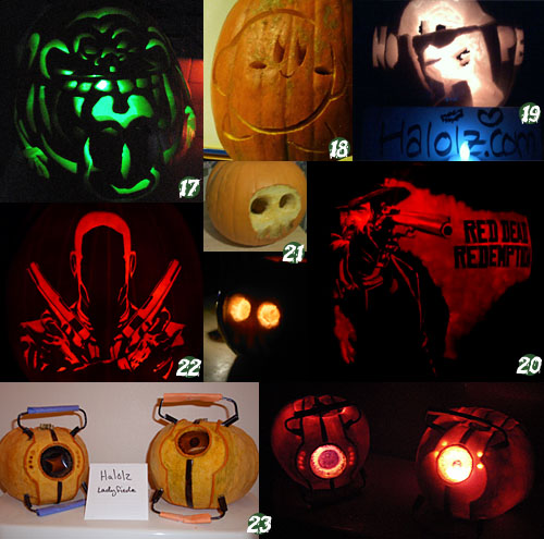 Halolzween 2010 Halloween Pumpkin Contest Entries