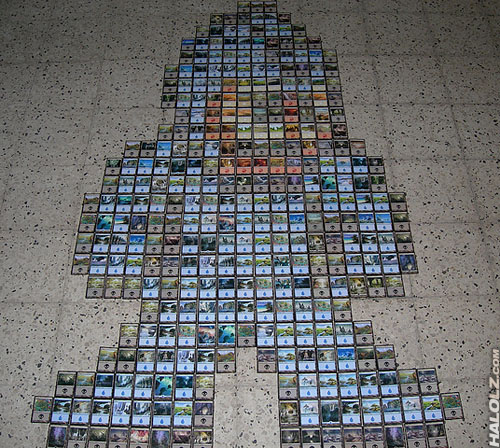 Magic The Gathering Mega Man NES Sprite
