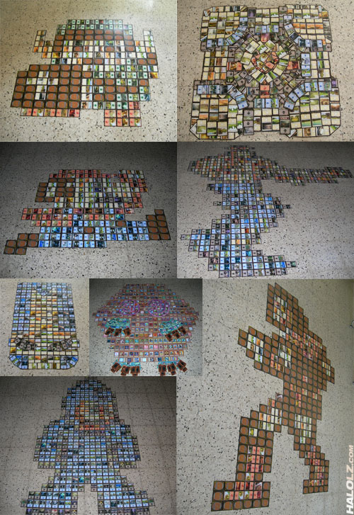 Magic The Gathering Sprite Art