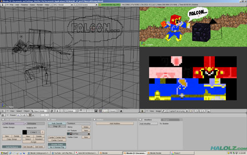 Captain Falcon Minecraft Skin Work