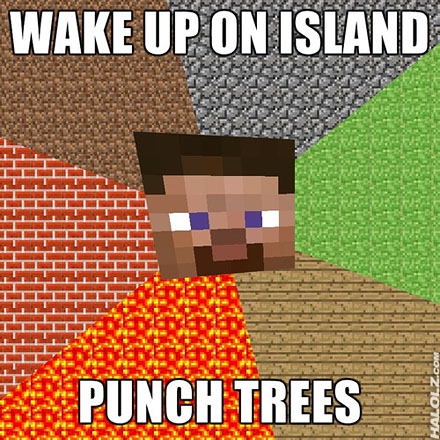 WAKE UP ON ISLAND, PUNCH TREES