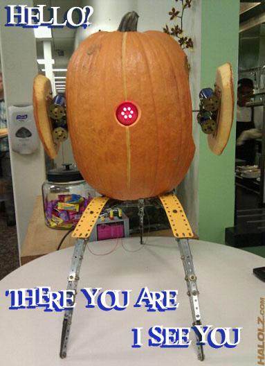 Portal Sentry Pumpkin