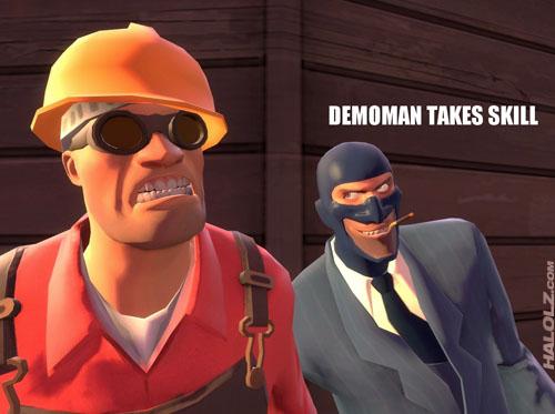 DEMOMAN TAKES SKILL