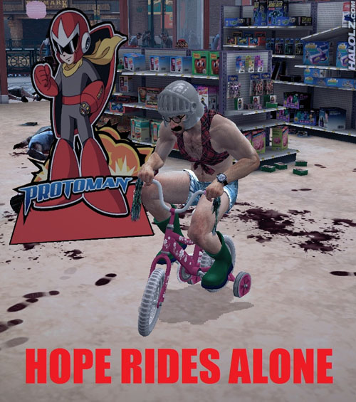 HOPE RIDES ALONE