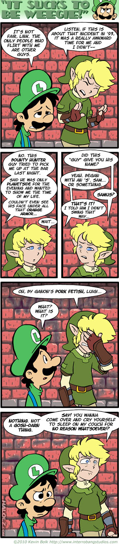 """""""IT SUCKS TO BE WEEGIE!"""" (comic)"""