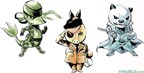 Pokemon Black & White MGS Style Fan Art