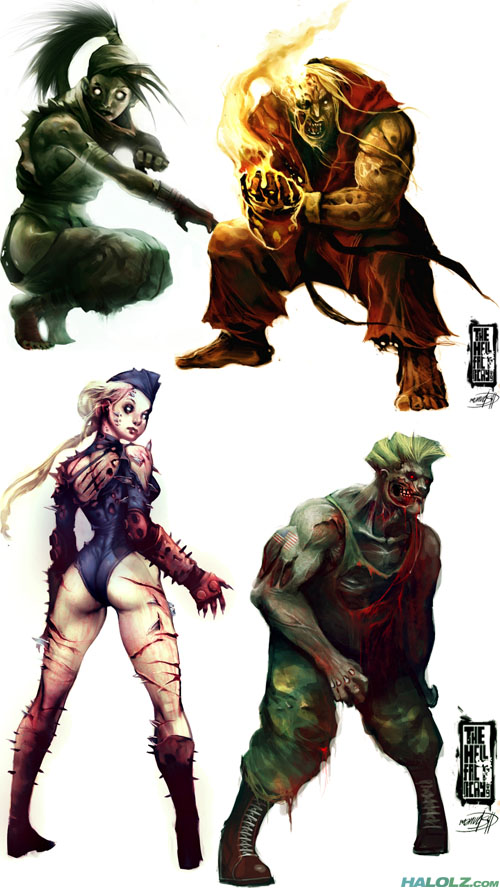 Street Fighter IV Zombies (Part 2)