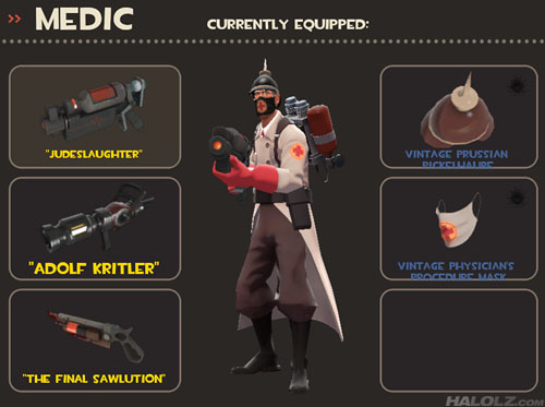 TF2 Medic's Inappropriate Weapon Names