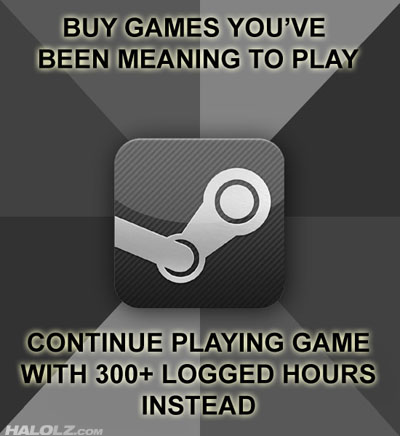 BUY GAMES YOU'VE BEEN MEANING TO PLAY - CONTINUE PLAYING GAME WITH 300+ LOGGED HOURS INSTEAD