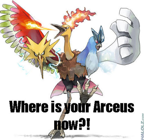 Where is your Arceus now?!
