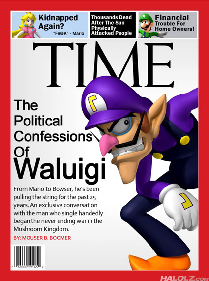 Waluigi TIME Magazine