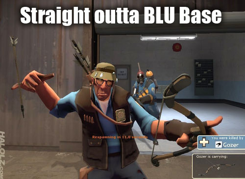 Straight outta BLU Base