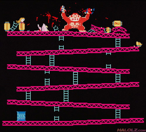 In case you're interested, there's a possible Donkey Kong kill screen coming up.