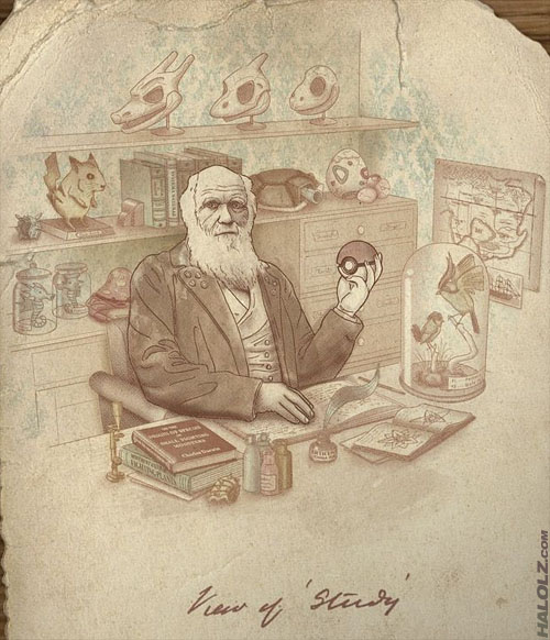 Darwin's Theory of Pokemon Evolution