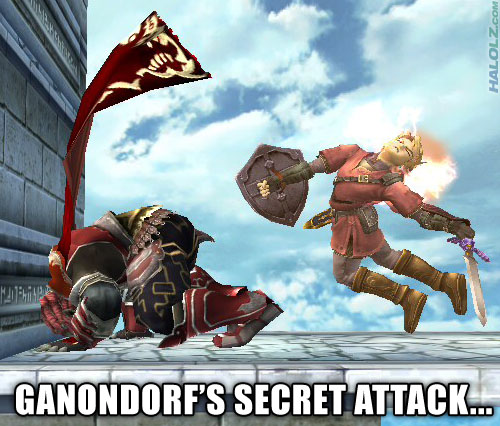 GANONDORF'S SECRET ATTACK...