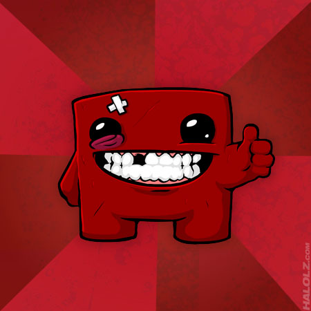 Super Meat Boy Template
