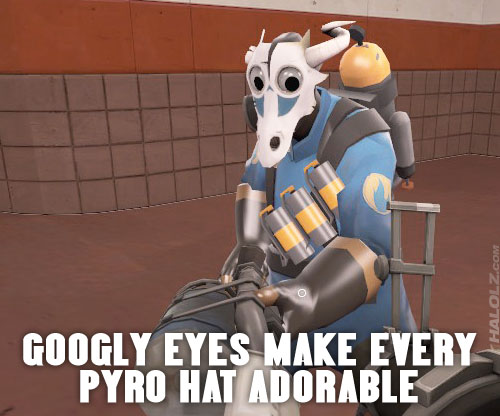 GOOGLY EYES MAKE EVERY PYRO HAT ADORABLE