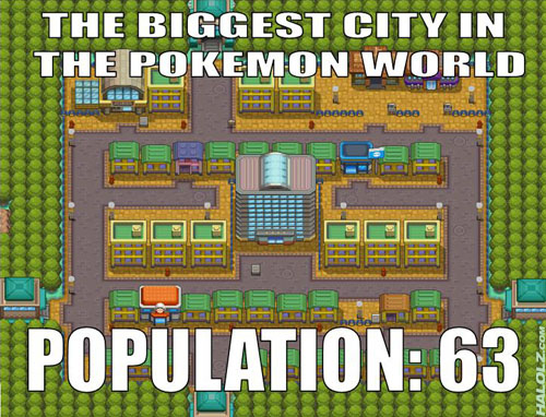 THE BIGGEST CITY IN THE POKEMON WORLD
