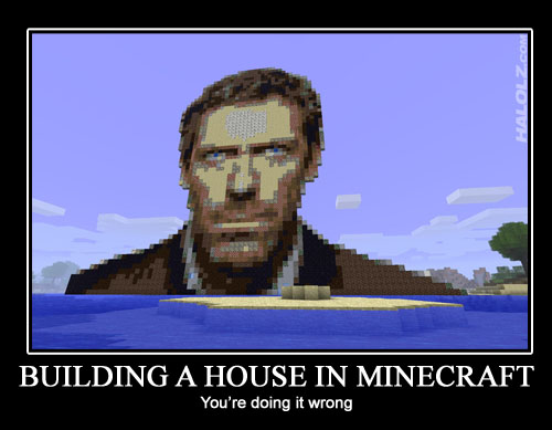 Building A House In Minecraft Halolz