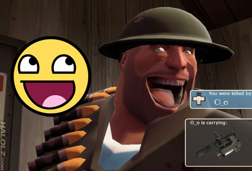 Heavy's Awesome Face