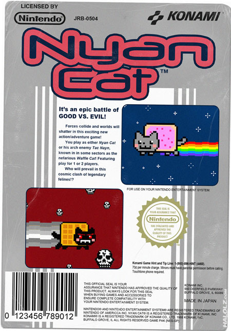 Nyan Cat NES Game
