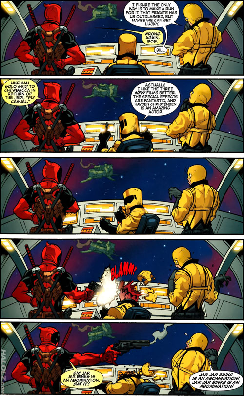 Deadpool: FLY CASUAL