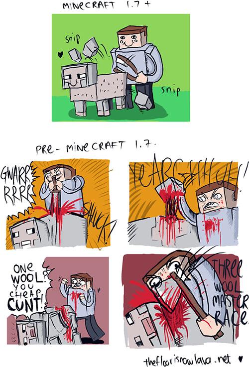Sheep Brutality