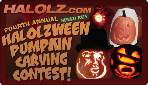 The Fourth Annual Halolzween Pumpkin Carving Contest!