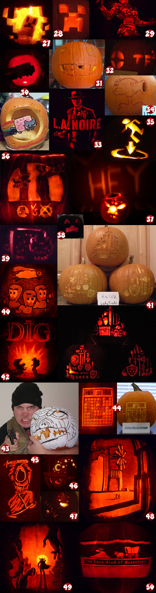 Halolz 2011 Halolzween Pumpkin Carving Contest Entries Page 2