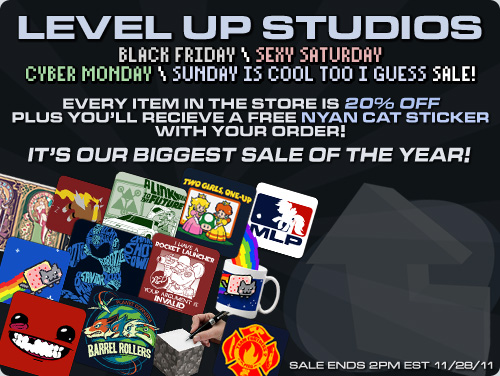 Level Up Studios Black Friday / CyberMonday Sale