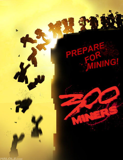 PREPARE FOR MINING! - 300 MINERS