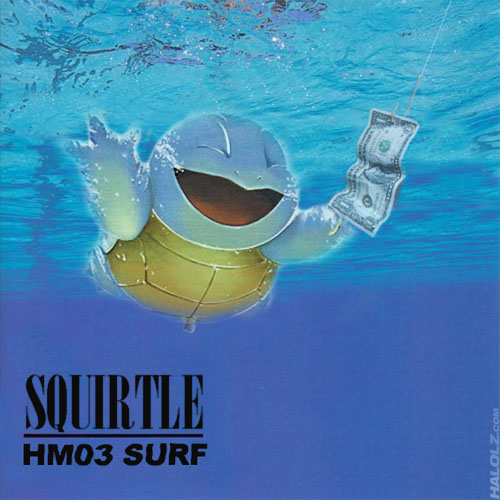 SQUIRTLE NIRVANA