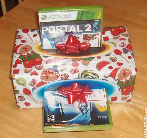 Now you're wrapping with portals!