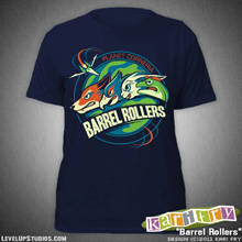Barrel Rollers Ladies T-Shirt