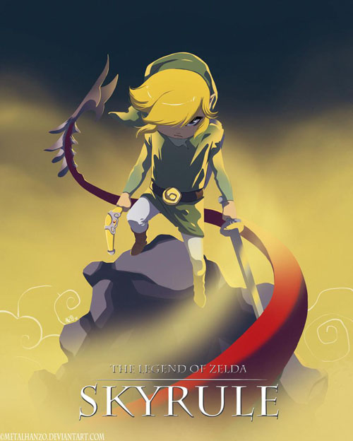 THE LEGEND OF ZELDA: SKYRULE
