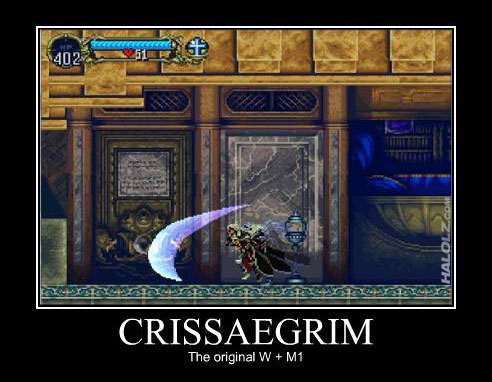 CRISSAEGRIM - The original W + M1