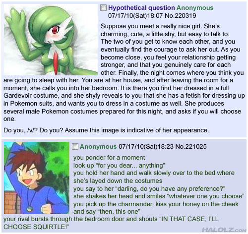 Hypothetical question 4chan Gary Oak