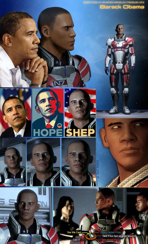 I'm Commander Obama...